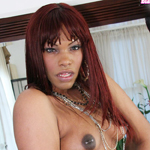 Black TGirl Fantasy is surely any ebony lover's great fantasy!