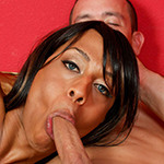 Ebony tranny pounds ass!