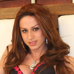 Nicolly from Sao Paulo was once Miss Gay, but now she's fully transformed and is hot and horny.