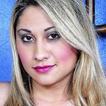 Hot blonde TS latina