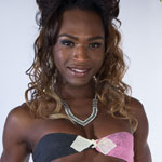 Black tgirl Chanel Couture graces Franks-TGirlWorld.com with her beauty again!