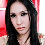 Gorgeous Thai ladyboy makes her debut on Franks TGirl World!
