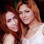 Thick dick Thai ladyboy Hotel stripper