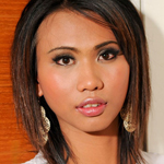 Petite 20 year old ladyboy with a cute smile!