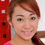 Cute teen ladyboy with a sweet smile