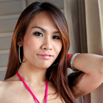 Nam is a sexy ladyboy who is low maintenance and fun to be around. Under that dress of hers, she has a perky little surprise she wants to share with you!
