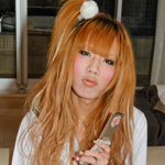 Unique, part-Korean Reina is the Shemale-Japan superstar of 2009 - if you visit Osaka you might be lucky enough to find her out partying!