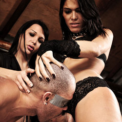 Slave gets dominated and humiliated