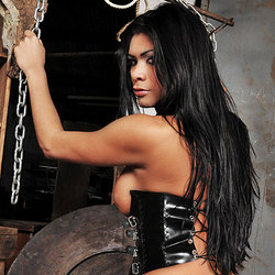 Yara Looks Delicious In Her Leather
