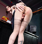Naughty teacher Brittany toying in the class