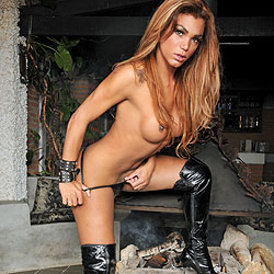 Brazilian shemale hottie Mariana Fenix